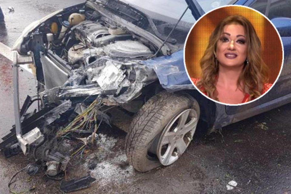 За влакно и избега на смртта: Ќерката на српскиот пејач доживеа страна сообраќајка
