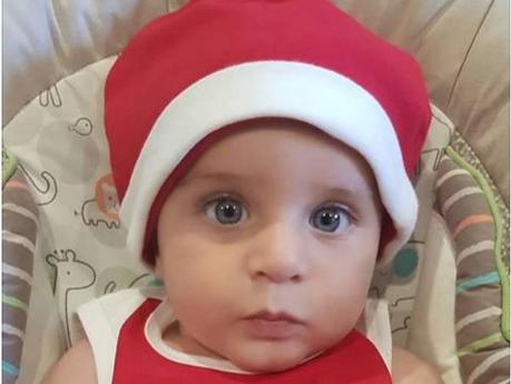 Како шеќерче: Ова е најслаткото македонско божиќно бебе! (ФОТО)