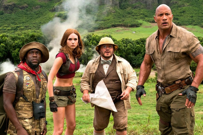 """""""Џуманџи: Добредојдовте во џунглата"""" заработи 100 милиони долари"""